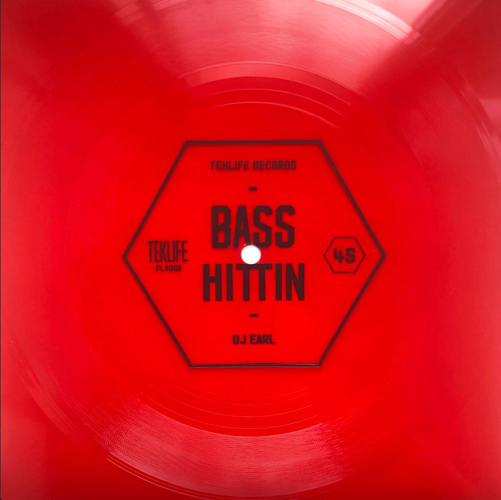 Image of TEKLIFE FLX002  -  BASS HITTIN DJ EARL