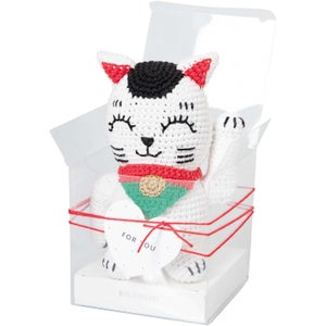 Image of Amigurumi Lucky Cat Kit