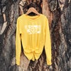 Youth Floral Montana Long Sleeve -Yellow