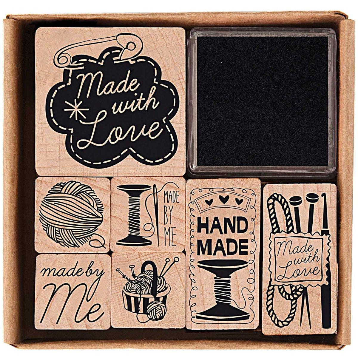Image of Handmade Stamp Set