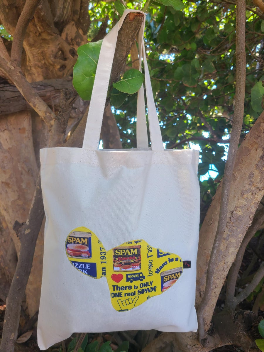 Image of Spam Canvas Tote Bag