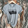 Montana The Last Best Place Tee -Grey