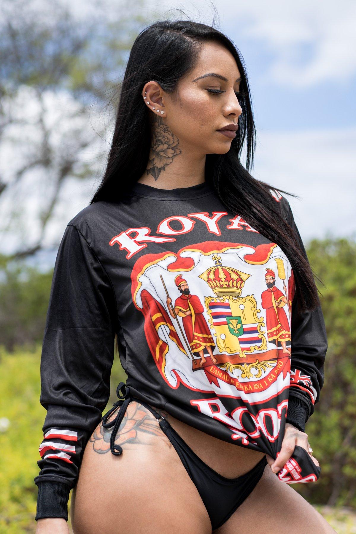 Royal Roots Black Longsleeve