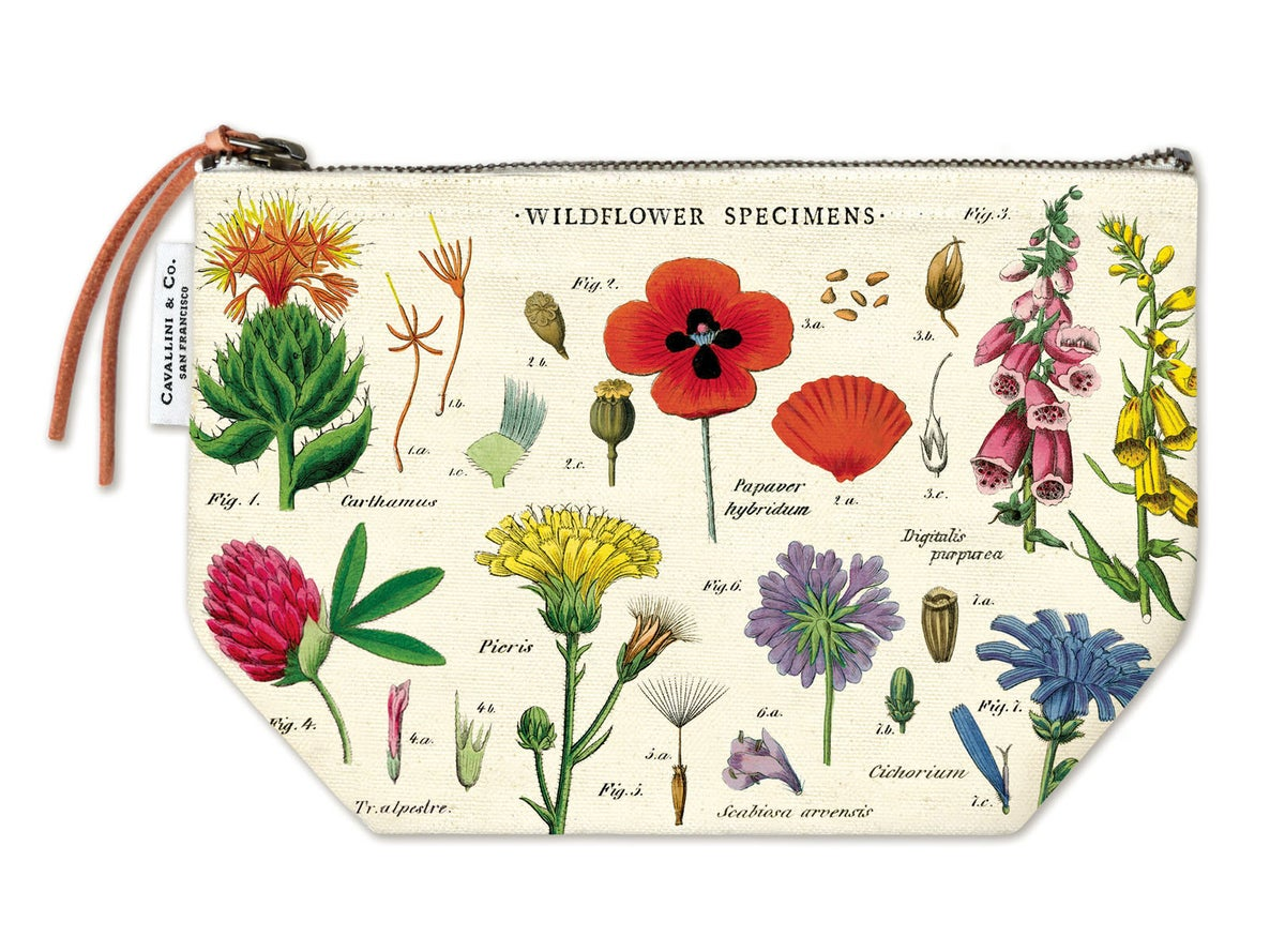 Image of Wild flower pouch