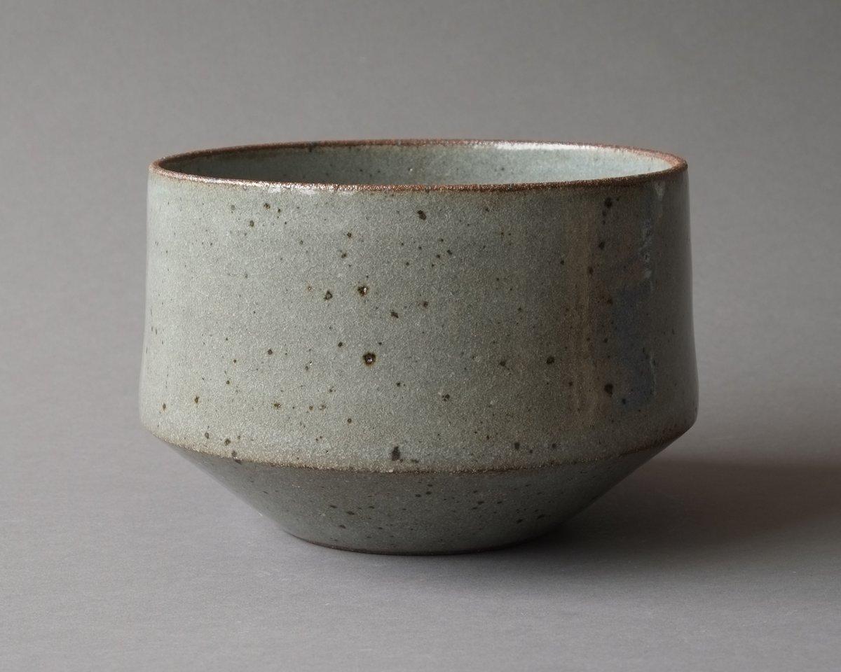 Image of Rock Planter - small grey celadon