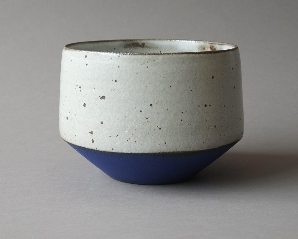 Image of Rock planter - Blue