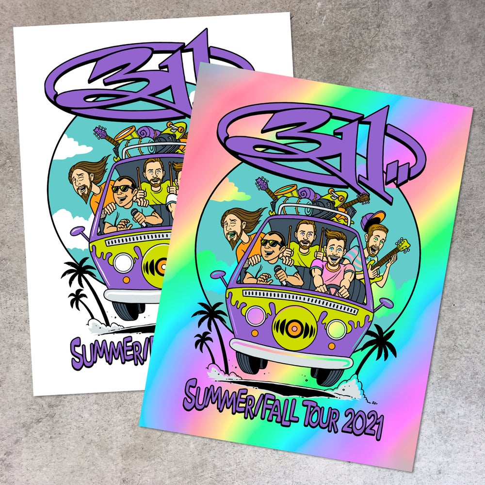 Image of 311 Summer/Fall 2021 Tour Posters