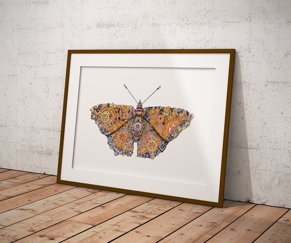Image of Aglais The Steampunk Butterfly