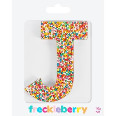 Image of J Freckle Letter