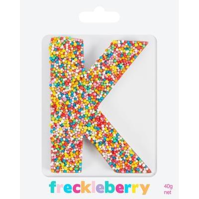 Image of K Freckle Letter
