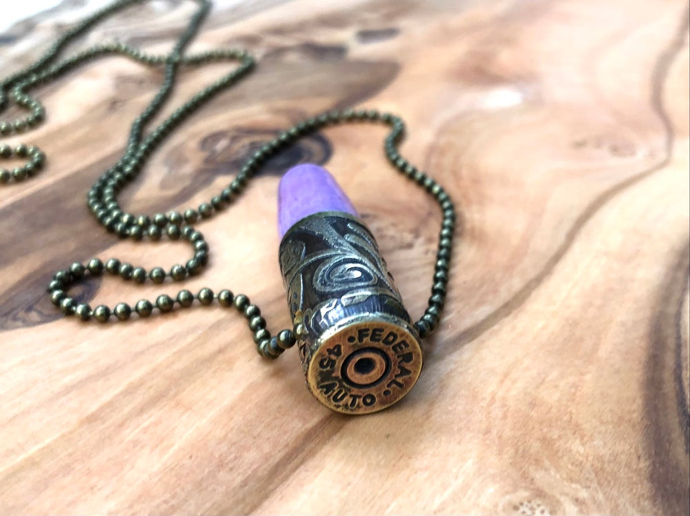 Image of ~BULLET PROOF (E) ~ Necklace