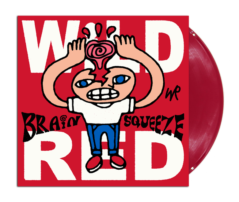 """Image of Wild Red """"Brain Squeeze"""" 12"""" EP"""