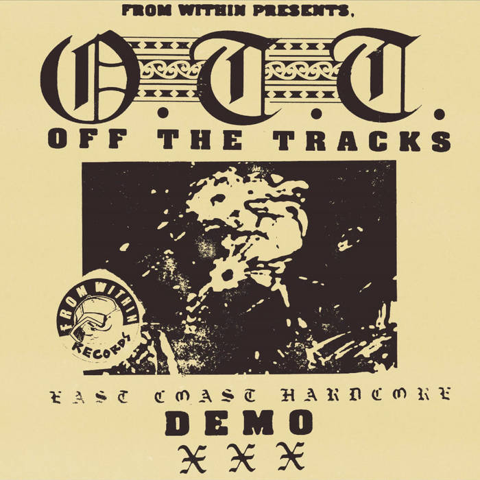 """Image of Off The Tracks """"Demo"""" Cassette"""