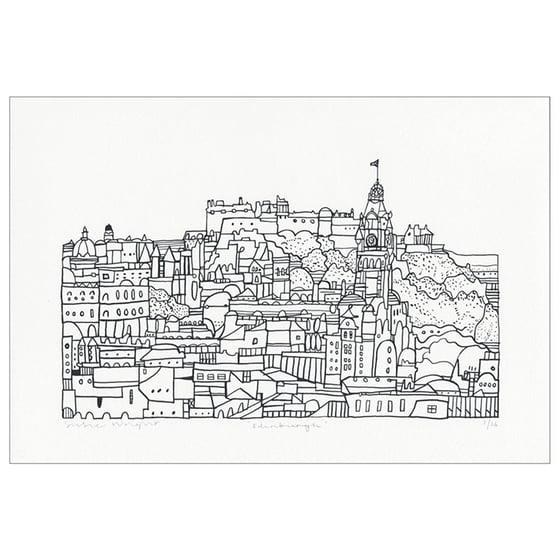 Image of Mini Edinburgh screen print