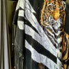 Fringe Suede Leather Bengal Tiger Cape O/S