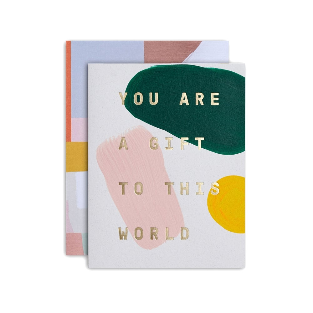 Image of Moglea You Are A Gift to This World Card - single or box set