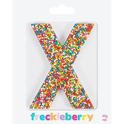 Image of X Freckle Letter