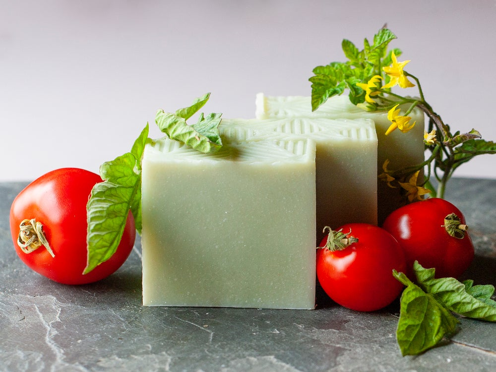 Image of Green Valley Bar - Extra Sudsy Tomato Leaf Soap