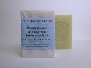 Image of Peppermint and Teatree Shampoo Bar