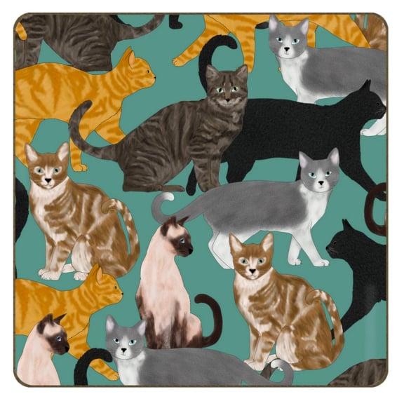 Image of Cat Coaster