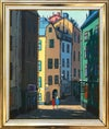 20th Century Swedish School 'Stockholm, Street View'