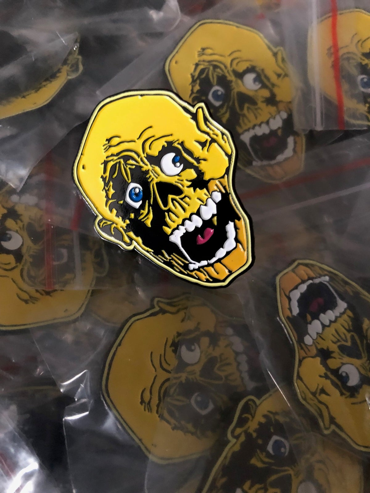 Image of Don't Eat The Gum Logo Pin