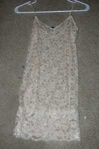Image of Nude Lace Dress