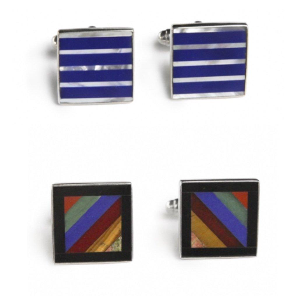 Image of Sterling Silver Cufflinks (5 designs)