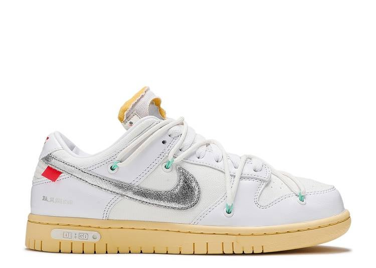 Image of OFF-WHITE X DUNK LOW 'LOT 01 OF 50'