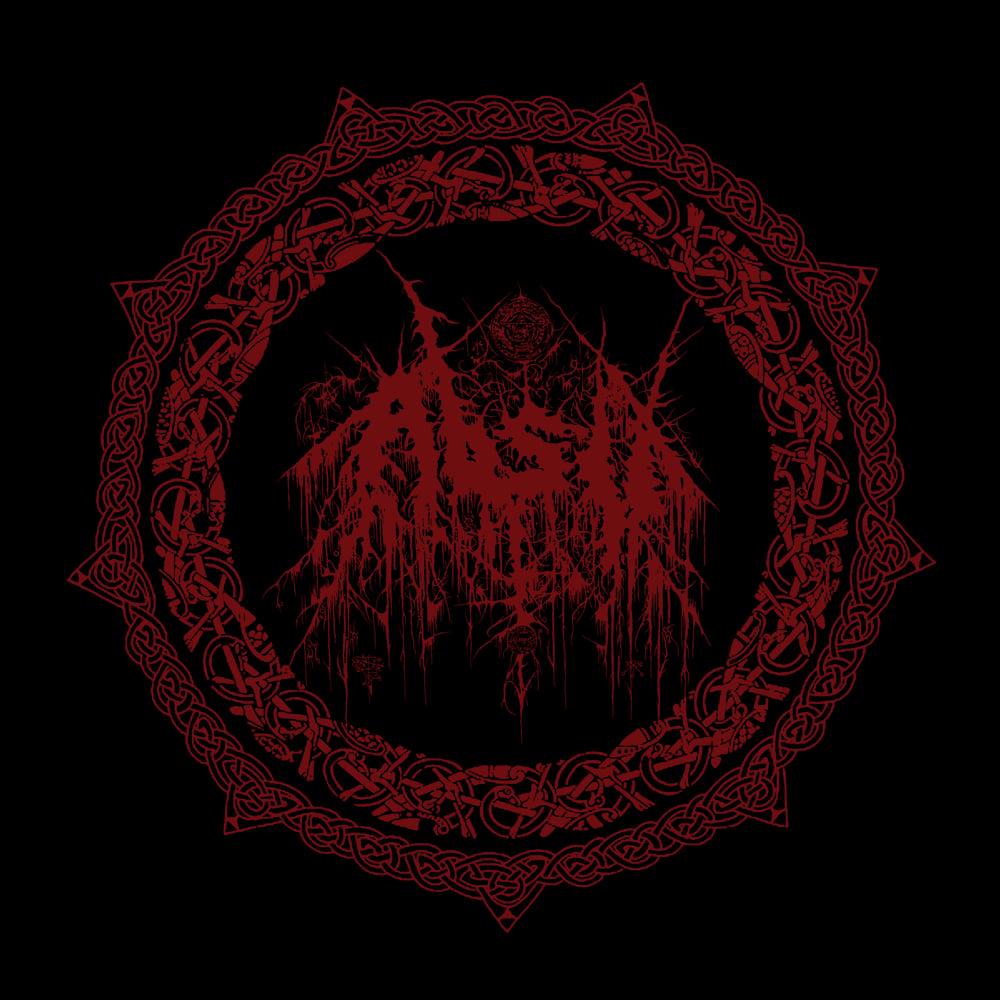 Image of ABSU - ANTHOLOGY LOGO 1 (RED PRINT)