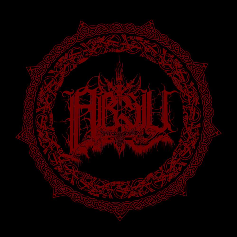Image of ABSU - ANTHOLOGY LOGO 2 (RED PRINT)