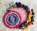 Pink Pop Tabby Circular Weaving