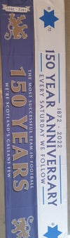 150 Years Anniversary Silk Double-sided Scarf