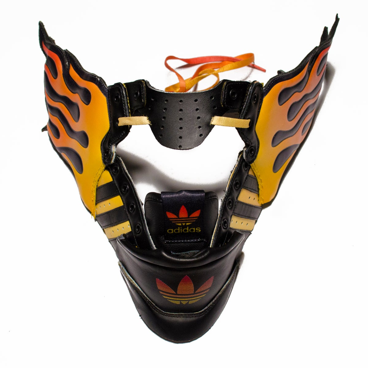 Image of SNEAKER WING MASK / JS AD / FIRE