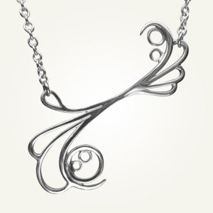 Image of Mayan Reef Necklace, Sterling Silver