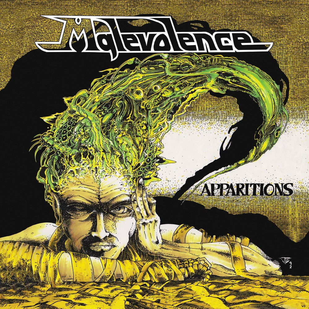 """Image of MALEVOLENCE - """"APPARITIONS"""" LP (1992)"""