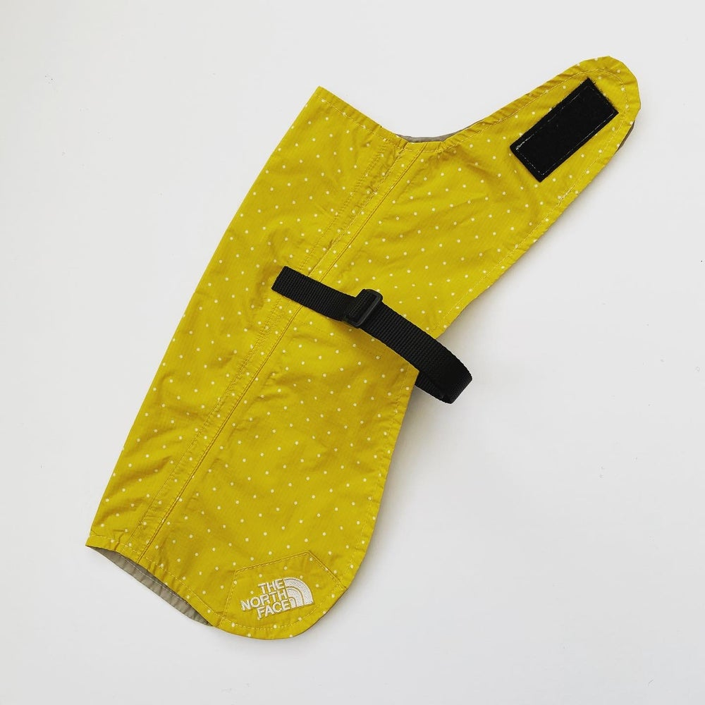 Image of The North Face HyVent Polka Dot Coat in Yellow
