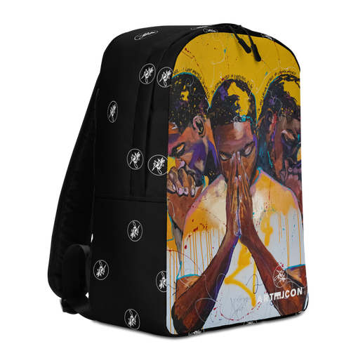 """Image of """"Lost in Compliance."""" ABJ Minimalist Backpack"""