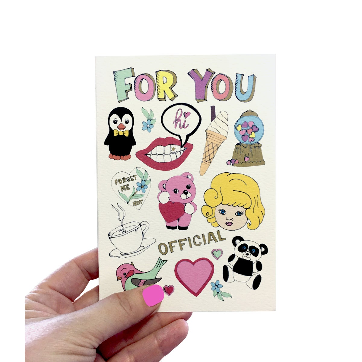 For You Flash Card
