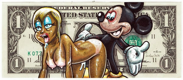 Image of Real Dollar Original. Mucky Mouse.
