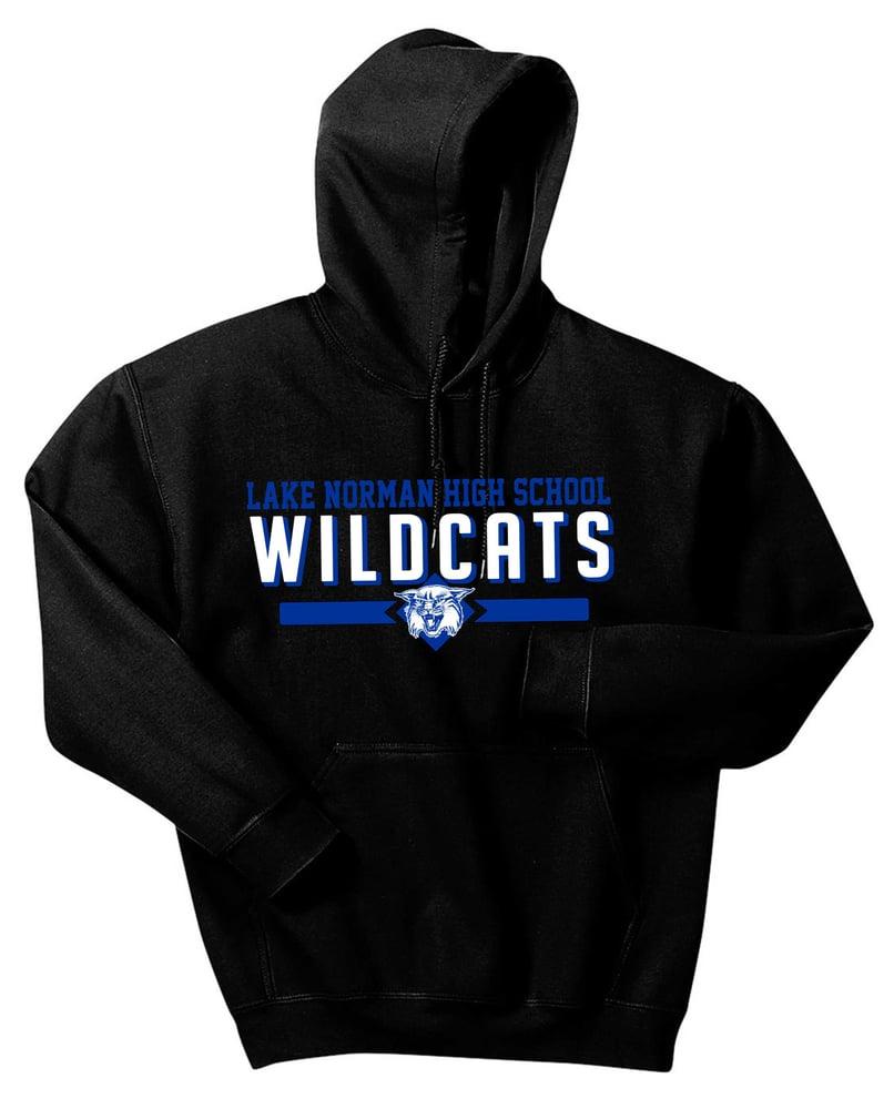 Image of WILDCATS Hoodie in Black or Gray heather