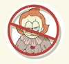 [ IT ] NO GARFWISE ALLOWED Thick Acrylic Charm