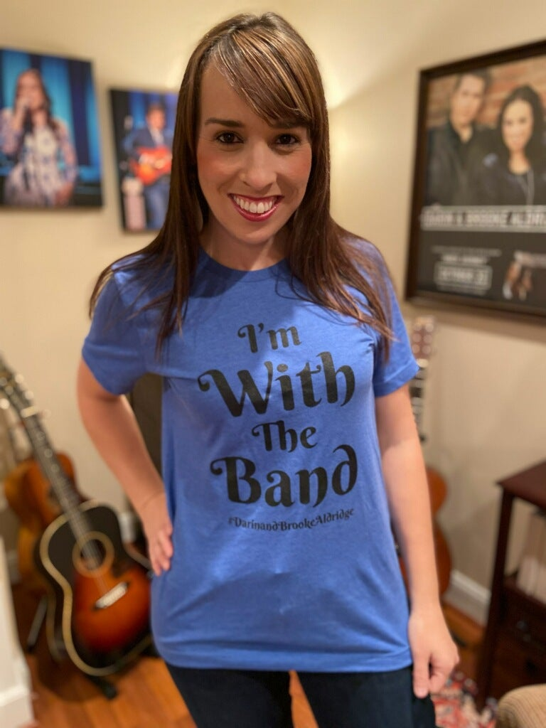 """Image of """"I'm With The Band"""" t-shirt"""