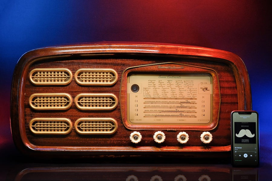 Image of TRANS CONTINENTS PD38 (1955) DELUXE BLUETOOTH SPEAKER