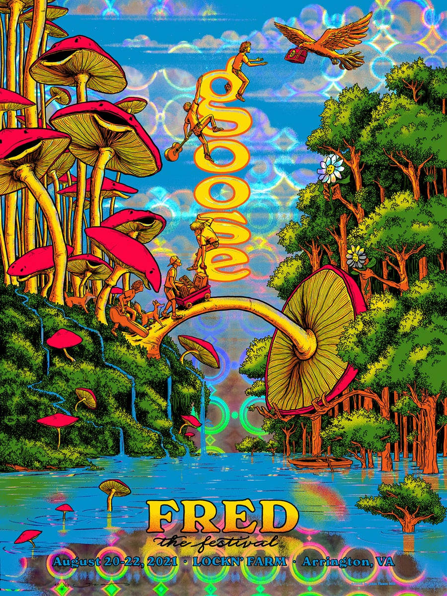 Image of Goose - Fred Fest 2021 - Circular Wonder HoloFoil