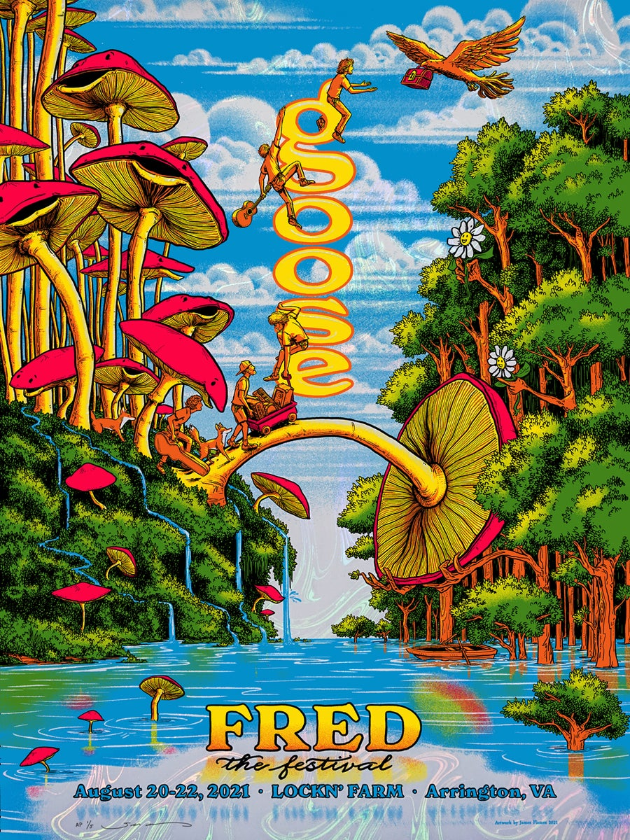 Image of Goose - Fred Fest 2021 - White Pearl Swirl HoloFoil