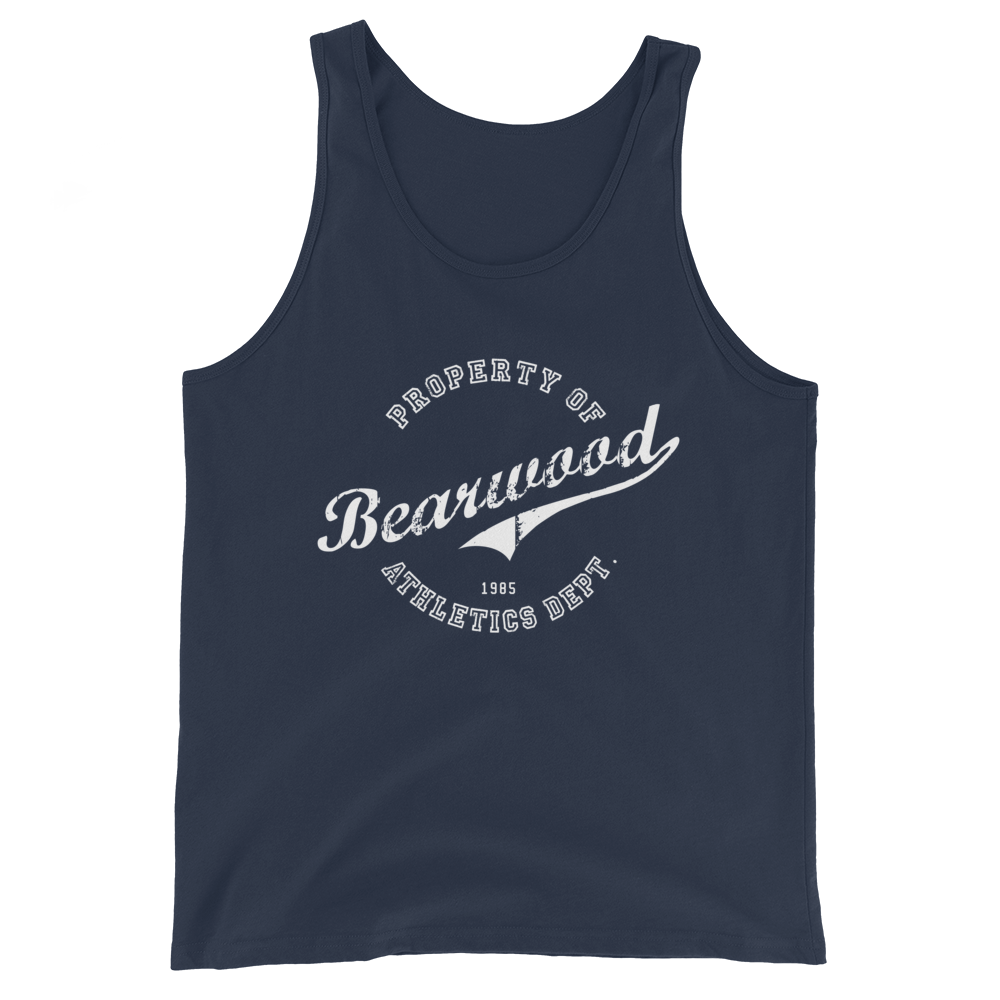 Image of Navy Blue BW Tank Top