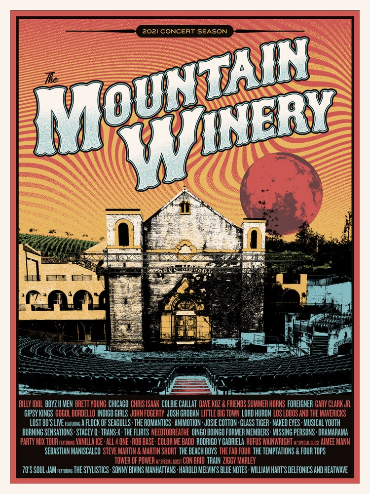 Image of The Mountain Winery - Saratoga 2021