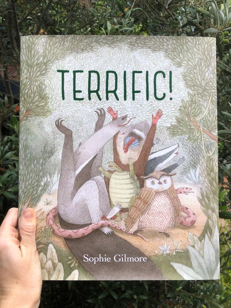 Image of TERRIFIC! (signed, hardcover)