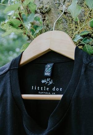 Image of My Deer Organic T-Shirt - Full Colour Black